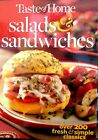 Taste of Home Salads & Sandwiches: Over 200 classic recipes new hardcover book