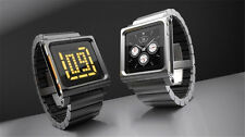 Black LunaTik LYNK Multi-Touch Wrist Watch Band for iPod Nano 6 6th generation