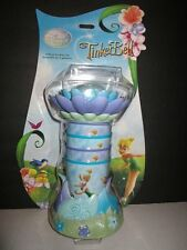 The Disney Store Set of 4 Tinkerbell Tumblers Cups & Holder NIP Discontinued