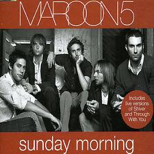 Sunday Morning [Single] by Maroon 5 (CD, Dec-2004, J Records)
