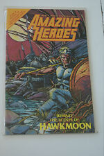 Amazing Heroes #86 Behind the Scenes of Hawkmoon Comic Book L#735