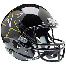 VANDERBILT COMMODORES BLACK SCHUTT XP FULL SIZE REPLICA FOOTBALL HELMET