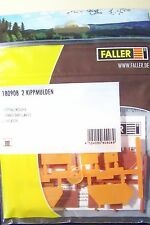 NEW HO 1:87 scale Faller Tipper DUMPSTER KIT ( 2 in kit ) Model Detail 180908