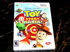 Toy Story Mania!  (Wii, 2009)  ***Complete***   FREE SHIPPING!!!