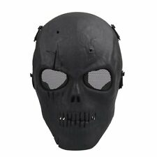 Sunny Airsoft Mask Skull Full Protective Mask Military - Black