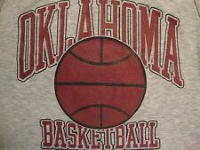 NCAA Oklahoma Sooners College University Basketball Fan Sleeveless T Shirt M