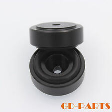 GD-PARTS 4xBlack Machined Aluminum Isolation Feet AMP Speaker Stand Pad 29x10mm