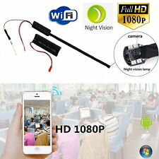 Wireless HD 1080P WiFi Spy Hidden IP Camera DIY Module IR Night Vision DVR Cam