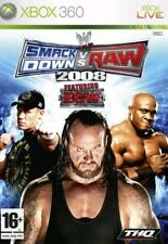 Xbox 360 WWE SmackDown vs Raw 2008 (Featuring ECW) **New & Sealed** UK Stock