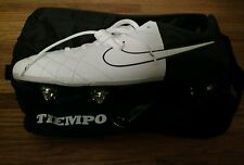 Nike Tiempo Legend IV Elite Mens sz 13 Soccer Cleats White/Black 453956-106