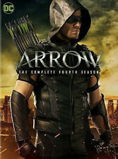 ARROW: The Complete Fourth Season 4 DVD (2016, 5 Disc Set) Four 4 4th ~ New