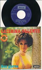 """CATERINA VALENTE 45 TOURS 7"""" BELGIUM SWEETHEART MY DARLING MIJN SCHAT"""