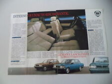 advertising Pubblicità 1983 LANCIA TREVI VX VOLUMEX/2000 IE/1600