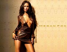 Runway GUCCI Kleid Dress In Bronze As Seen On Megan Fox At MAXIM Cover