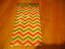 3 X 8 Sheets Spritz Tissue Paper Size 16 1/2 in X  24 in Holiday Time Great Gift