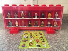 LEGO Series 3 Minifigures - Complete Set! - Includes Discontinued Display Case