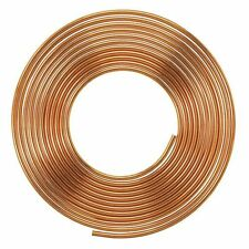 NEW 50cm of 10mm outside dia. microbore gas LPG water copper plumbing pipe/tube