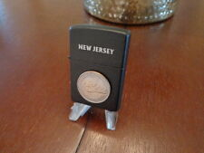 NEW JERSEY STATE QUARTER ZIPPO LIGHTER LIMITED EDITION MINT IN BOX SET BREAK