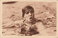 Charlotte Lotte Mühe Swimming Natation Schwimmerin Germany SPORT CARD IMAGE 30s