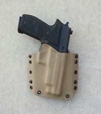 OWB Dark Earth Kydex Holster Sig Sauer P226 W/Rail
