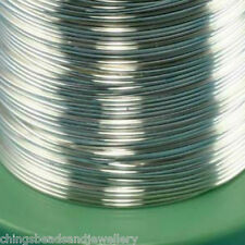 3M Sterling Silver 0.8mm (20 gauge) Round Wire Jewellery Making