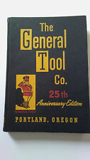 The General Tool Co. Portland Oregon, 1950, Hardcover Catalog, No. 51, 510 pages