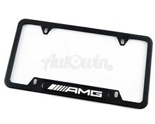Standart License Plates For Mercedes-AMG Frames with AMG Logo USA Model NEW