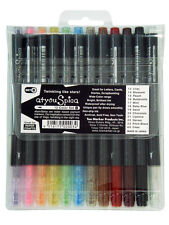 COPIC GLITTER MARKER PEN SET - 12 COLOUR SET B