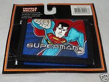 NEW IN PACKAGE SUPERMAN KIDS TRIFOLD WALLET