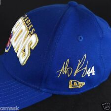 Anthony RIZZO SIGNATURE Chicago Cubs World Series Champions LOCKER ROOM Hat Cap