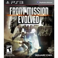 PS3 Games Front Mission Evolved Brand New & Sealed