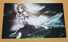 C987 Free Mat Bag Asuna Sword Art Online Large Game Mouse Pad Deck Games Playmat