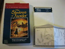 "The Shadows of Mordor Apple IIe Game 5 1/4""  disk Complete Apple Games Addeson"