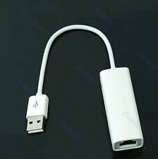 New USB 2.0 to RJ45 Lan Ethernet Adapter For Apple Mac Win7 XP Vista 10/100Mbps