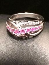925 Sterling Silver CZ Ring Signed OTC Thailand