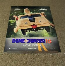 "DUMB & DUMBER TO - 2014 ORIGINAL MOVIE DS TEASER POSTER 27""x40"" - NO FOLDS -T"