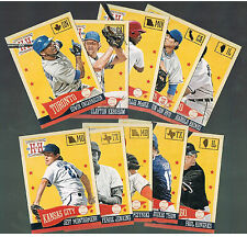 DICKIE THON #256 Astros  2013 PANINI hometown heroes State paralleL