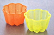 Japanese Plastic Jello Jelly Mold Maker Set of 2 #1938