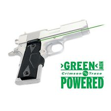 Crimson Trace Green Lasergrips for 1911 Compact Pistols - LG-404G
