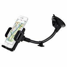 Mobile Phone Car Holder Super Strong Dual Grip Universal Long Flexible Arm Mount