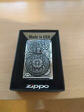 zippo lighter pocket watch design with lifetime garenteed & box new.