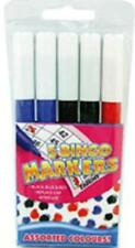 BINGO MARKERS DABBERS MULTI-COLOURED FOR BINGO TICKETS BLACK BLUE AND RED PENS