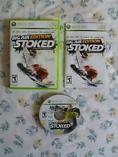MINT / BRAND NEW condition condition Stoked: Big Air Edition - Xbox 360 TN30