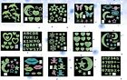 Home Wall Glow In The Dark Stars Sticker Decal Baby Kid's Bed Nursery Room Decor
