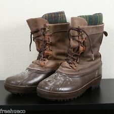 SOREL Insulated Pac Snow Cold Weather Boots -Men's US 9 -Made in Canada