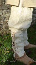 Multi periodo, Pantaloni, Medievale, Larp, Eroe Pantaloni, con risvolto Gamba, 100% COTONE
