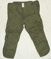 Combat Vehicle Crewmans Coverall Trouser Liner, Size Medium Regular Brand New