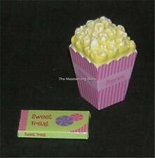 """American Girl BAG of POPCORN and SWEET TREAT BAR for Molly or Similar 18"""" Dolls"""