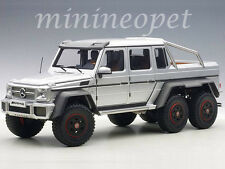 AUTOart 76301 MERCEDES BENZ G63 6X6 1/18 MODEL CAR SILVER