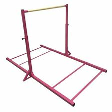 Gymnastics Pink Mini High Bar with Leg Extensions